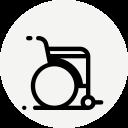Icon Rollstuhl